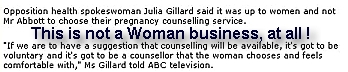 Without being religious a split-second I tell this is insane. Julia Gillard vs Abbott